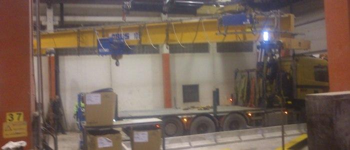 Traverser ABUS 10 ton